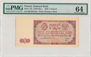 5 złotych 1948 - BK