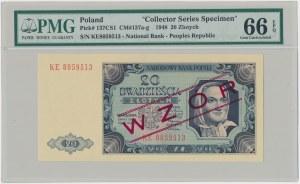 20 złotych 1948 - WZÓR kolekcjonerski - KE