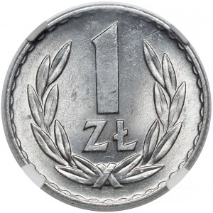 1 złoty 1968 - rzadki rok - piękna