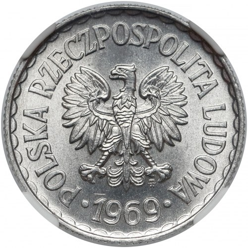 1 złoty 1969 - piękna