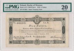 2 talary 1810 - BEZ STEMPLA - Zamojski