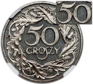 LUSTRZANKA 50 groszy 1923