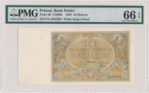 10 złotych 1929 - Ser.FX