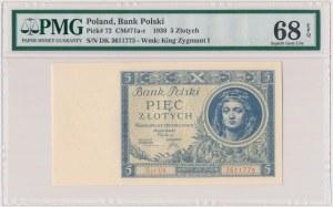 5 złotych 1930 - Ser.DK