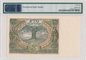 100 złotych 1934 - Ser.BM - +X+ w znaku wodnym