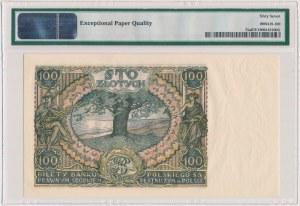 100 złotych 1934 - Ser.C.O - kropka między literami serii