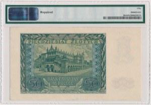 50 złotych 1940 - WZÓR - A 0000000