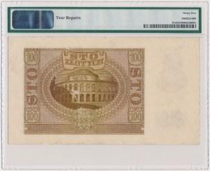 100 złotych 1940 - WZÓR - Ser.A 0000000