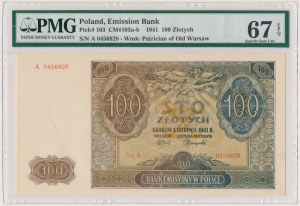 100 złotych 1941 - A