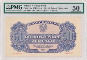 50 złotych 1944 ...owe - Hd - seria zastępcza