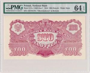 100 złotych 1944 ...owe - Ax