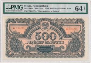 500 złotych 1944 ...owe - PC