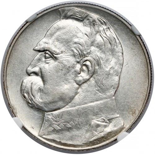 Piłsudski 10 złotych 1938