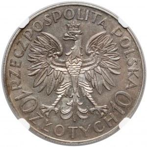 Sobieski 10 złotych 1933