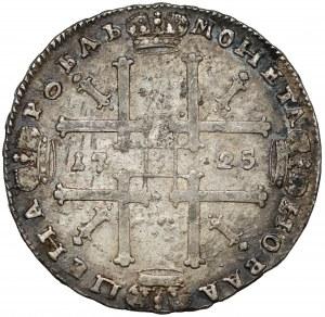 Rosja, Piotr I, Rubel Moskwa 1725