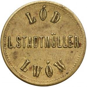 Lwów, L. Stadtmüller, Lód, nominał 2