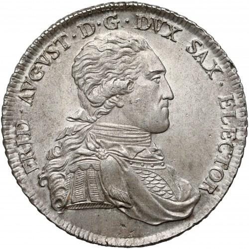 Niemcy, Saksonia, Fryderyk August III, Talar Drezno 1801 IEC