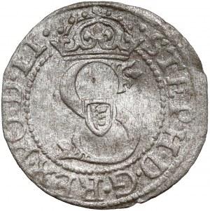 Stefan Batory, Szeląg Ryga 1582 - LI