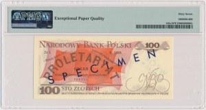 100 złotych 1975 - WZÓR - A 0000000 - No.0146