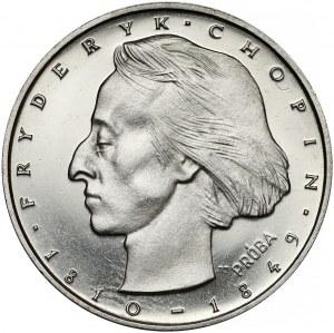 Próba NIKIEL 50 złotych 1972 Chopin - mała głowa