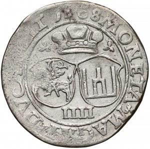 Zygmunt II August, Czworak Wilno 1568 - LIT - rzadki