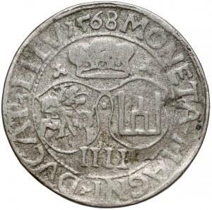 Zygmunt II August, Falsyfikat z epoki Czworaka Wilno 1568