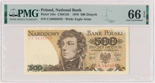 500 złotych 1979 - CA