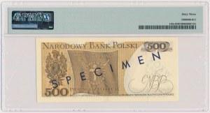 500 złotych 1974 - WZÓR - A 0000000 - No.0180