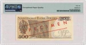 500 złotych 1976 - WZÓR - AF 0000000 - No.0793