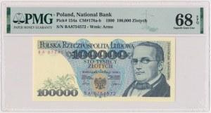 100.000 złotych 1990 - BA
