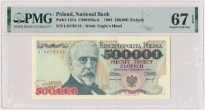 500.000 złotych 1993 - L