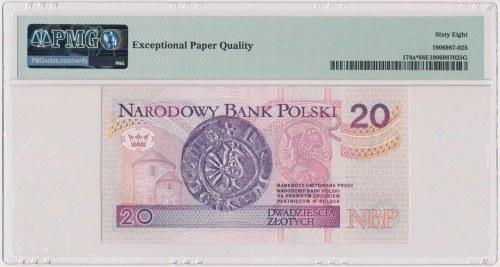 20 złotych 1994 - ZA 0006564 - seria zastępcza