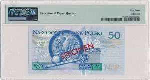 50 złotych 1994 - WZÓR - AA 0000000 - Nr 1764
