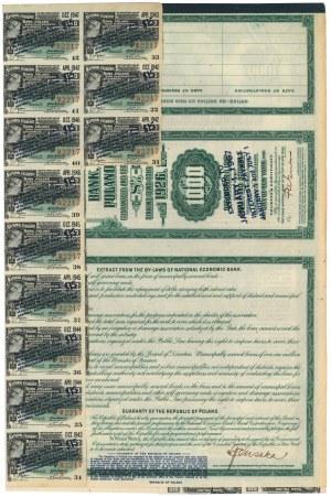 BGK, Obligacja Poż. Dolarowej na $1.000 1926