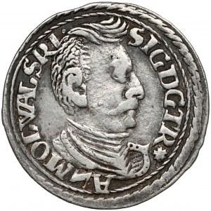 Siedmiogród, Zygmunt Batory, Trojak Nagybanya 1598 - duże popiersie