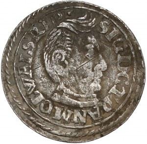 Siedmiogród, Zygmunt Batory, Trojak Nagybanya 1598 - małe popiersie