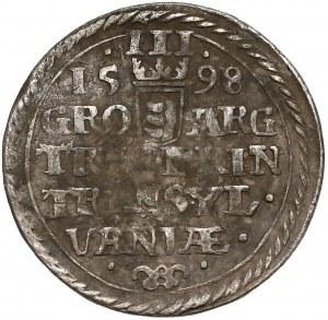 Transylvania, Sigismund Báthory, 3 Groschen Nagybanya 1598