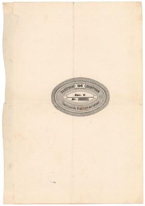 Lwów, TKZ, 4% List zastawny konwersyjny 100 zł 1925