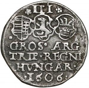 Transylvania, Stephen Bocskai 3 Groschen 1606