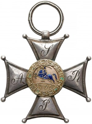 Powstanie listopadowe, Srebrny Krzyż Orderu Wojskowego Virtuti Militari