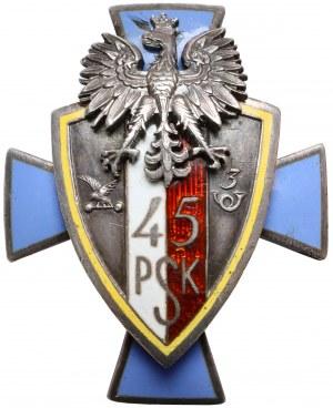 Odznaka, 45 Pułk Strzelców Kresowych