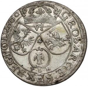 Jan II Kazimierz, Szóstak Kraków 1660 TLB - TLB pod Snopkiem
