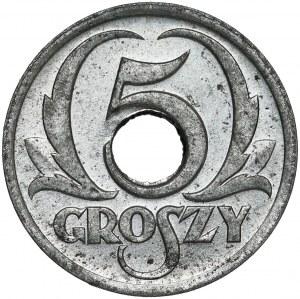 Generalna Gubernia, 5 groszy 1939 - piękne