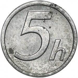 Slovakia, 5 Halierov 1942