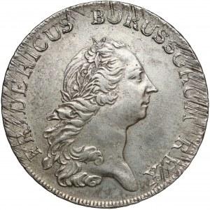 Prusy, Prusy, Fryderyk II, Talar 1774-A, Berlin