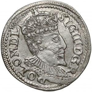 Zygmunt III Waza, Trojak Olkusz 1595 - POLO