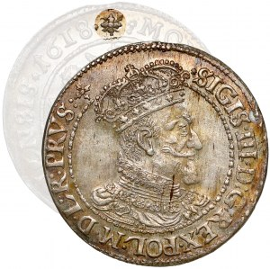 Zygmunt III Waza, Ort Gdańsk 1618 -