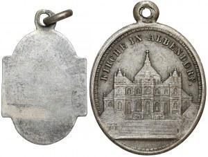 Medaliki Wambierzyce (Albendorf) + Jezus Chrystus (2szt)
