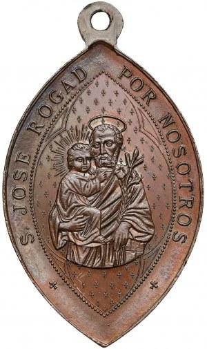 Spain (?), Religious medal - Rogad por nosotros