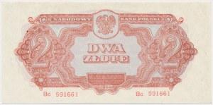 2 złote 1944 ...owym - Bc